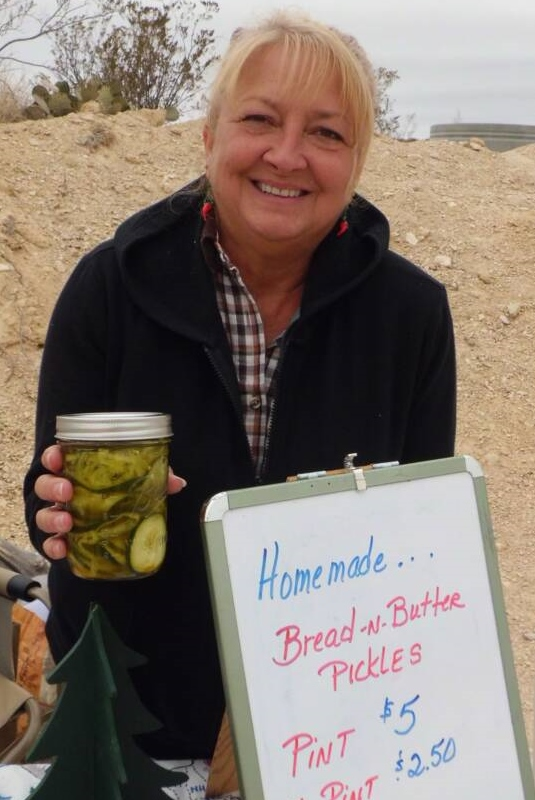 June Grimm sells artisan food.